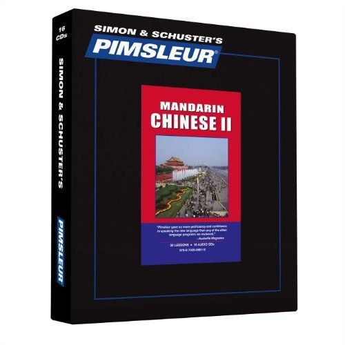 Mandarin Chinese II by Pimsleur Language Programs, http://www.amazon.com/dp/0743506618/ref=cm_sw_r_pi_dp_cz4Hsb1QR0R87
