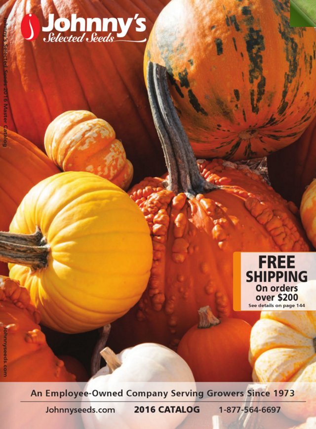 Here's How to Get a Free Johnny's Selected Seeds Catalog