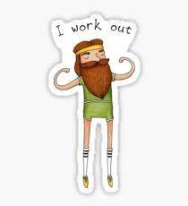 Bildresultat för workout stickers