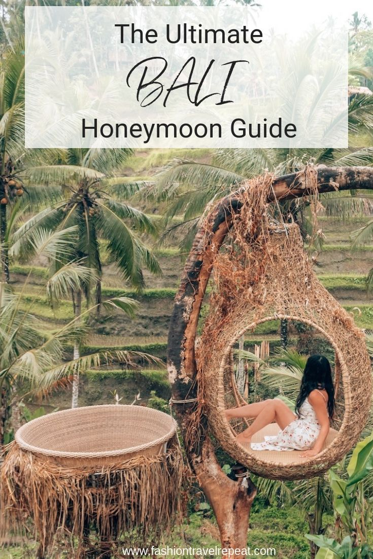 The ultimate guide to a relaxed honeymoon in Bali