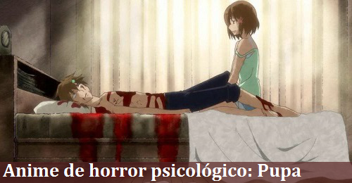 Anime de horror psicológico Pupa (Me surpreendi) Anime