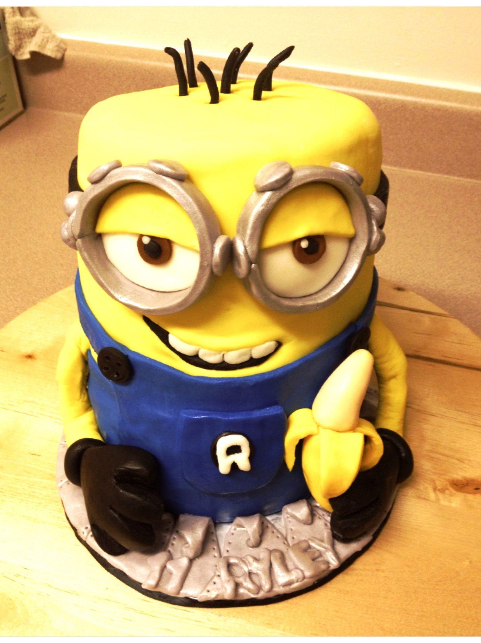 My little minion cake