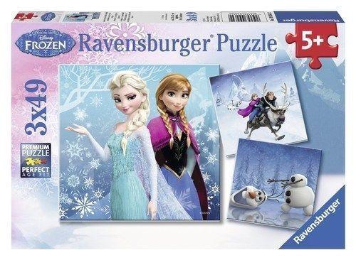 Ravensburger Disney Princess 3 x 49 Jigsaw Puzzle