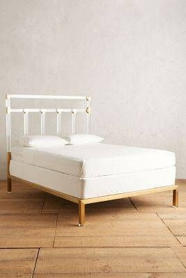 Best Anthropologie Oscarine Lucite Bed Domino Unique Bedroom Furniture Unique Bed Frames 400 x 300