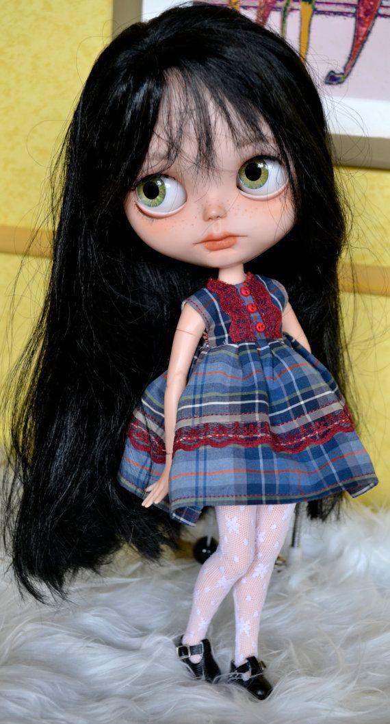 Customized Blythe doll by Carlaxy This girl has by CARLXYDOLLS