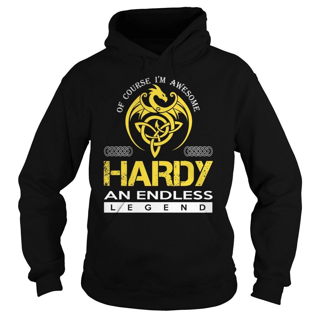 HARDY An Endless Legend (Dragon) - Last Name, Surname T-Shirt
