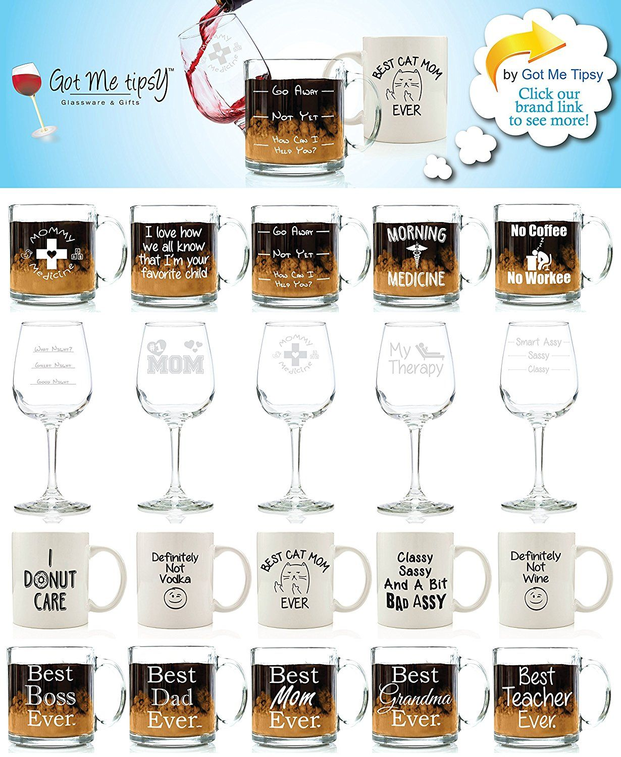 Mr Mrs Got Me Tipsy KQWGPG Newlyweds 16 oz Beer Pint Glass Mom Wedding Dad Him Christmas Present Idea Couples Her 13 oz Wine Glass Anniversary Housewarming Parents King and Queen Gift Set Engagement