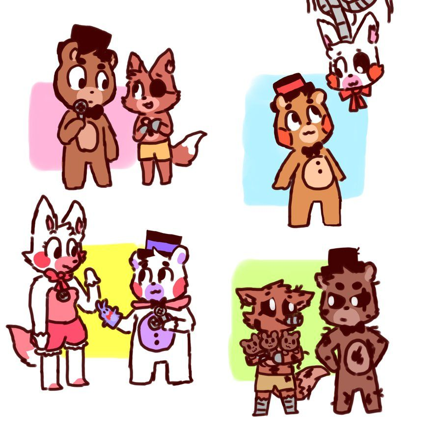 Heres Funtime Freddy Bon Bon Funtime Foxy And Circus Baby