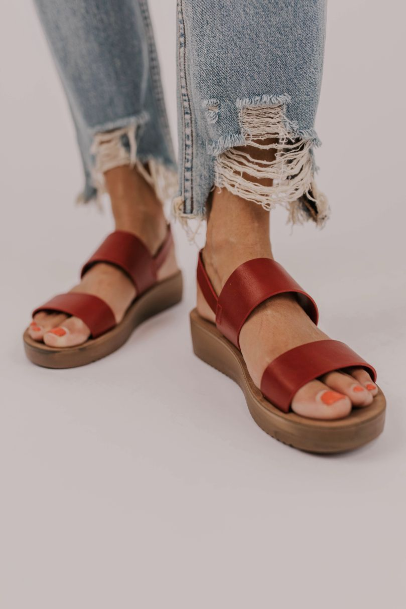 Sonmer Womens Strappy Thick-Bottom Sandals Fashion Casual Platform Closed Toe Shoes Summer Sandals