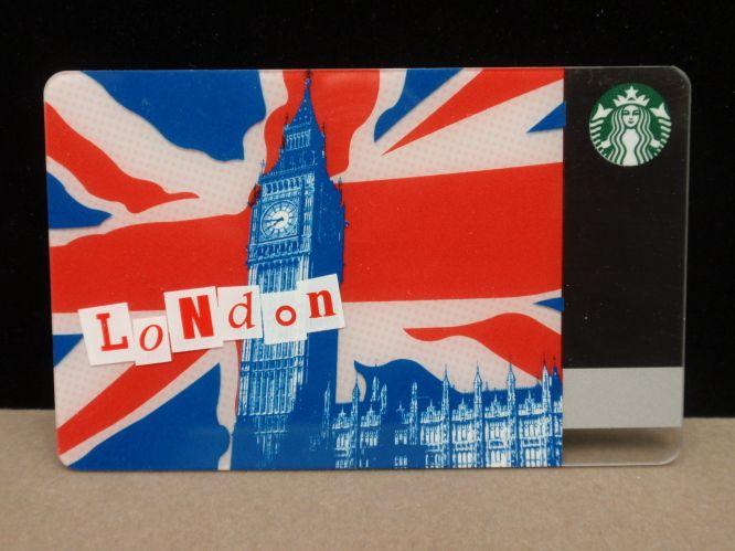 STARBUCKS GIFT CARD UK