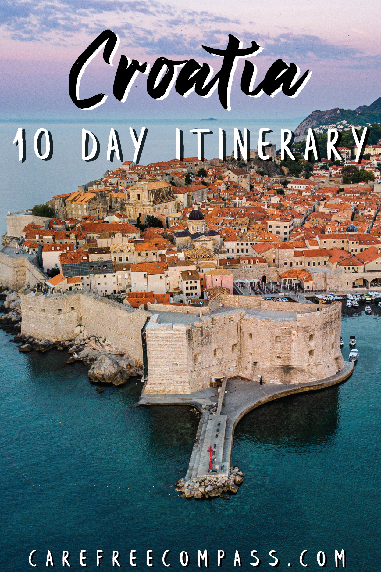 How To Take The Perfect 10 Day Croatia Road Trip Carefree Compass In 2020 Trip Travel Destinations European Road Trip Fun