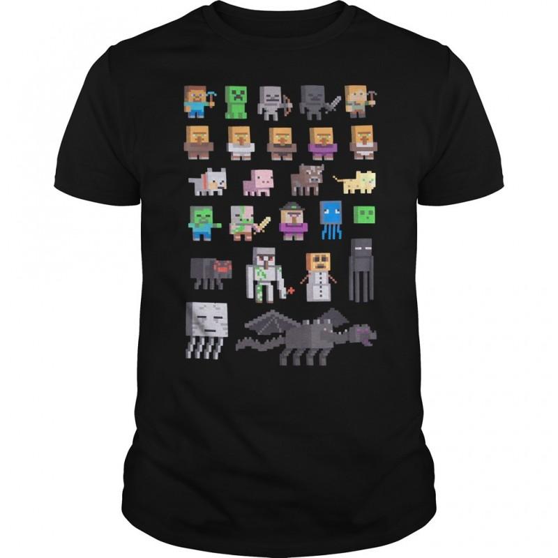 Minecraft Sprites Boys T-Shirt