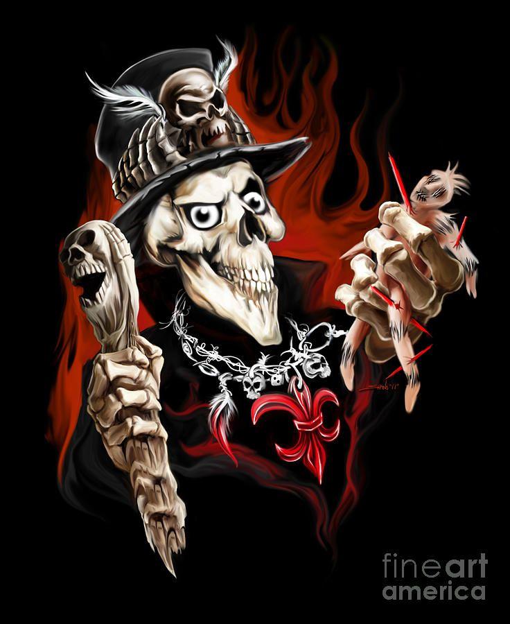 Logo Skull Born Way