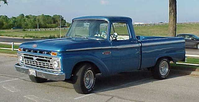 Ford Pickup Truck Air Conditioning Pickup Trucks Ford Pickup
