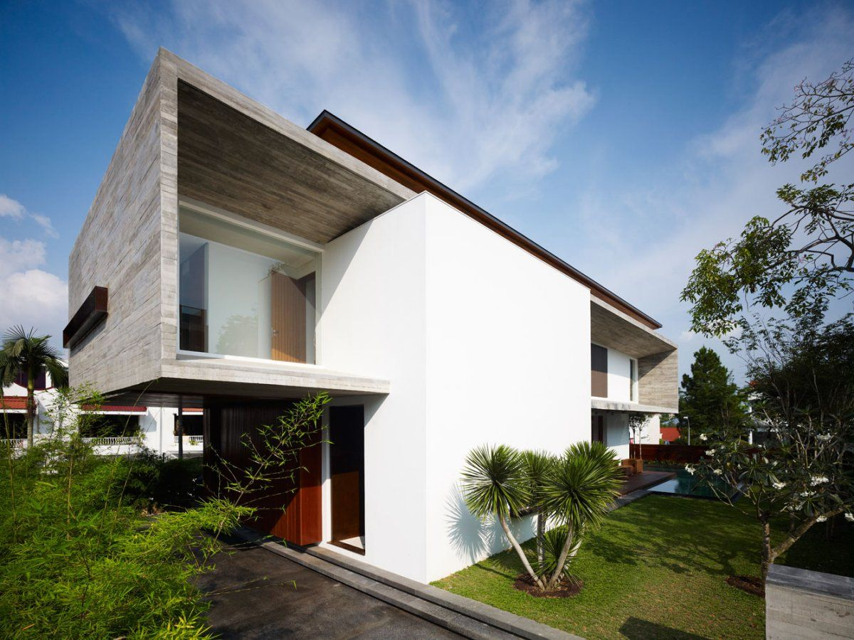 Best Kitchen Gallery: M House By Ong Ong House Projects Modern Minimalist And House of Tropical Modern House on rachelxblog.com