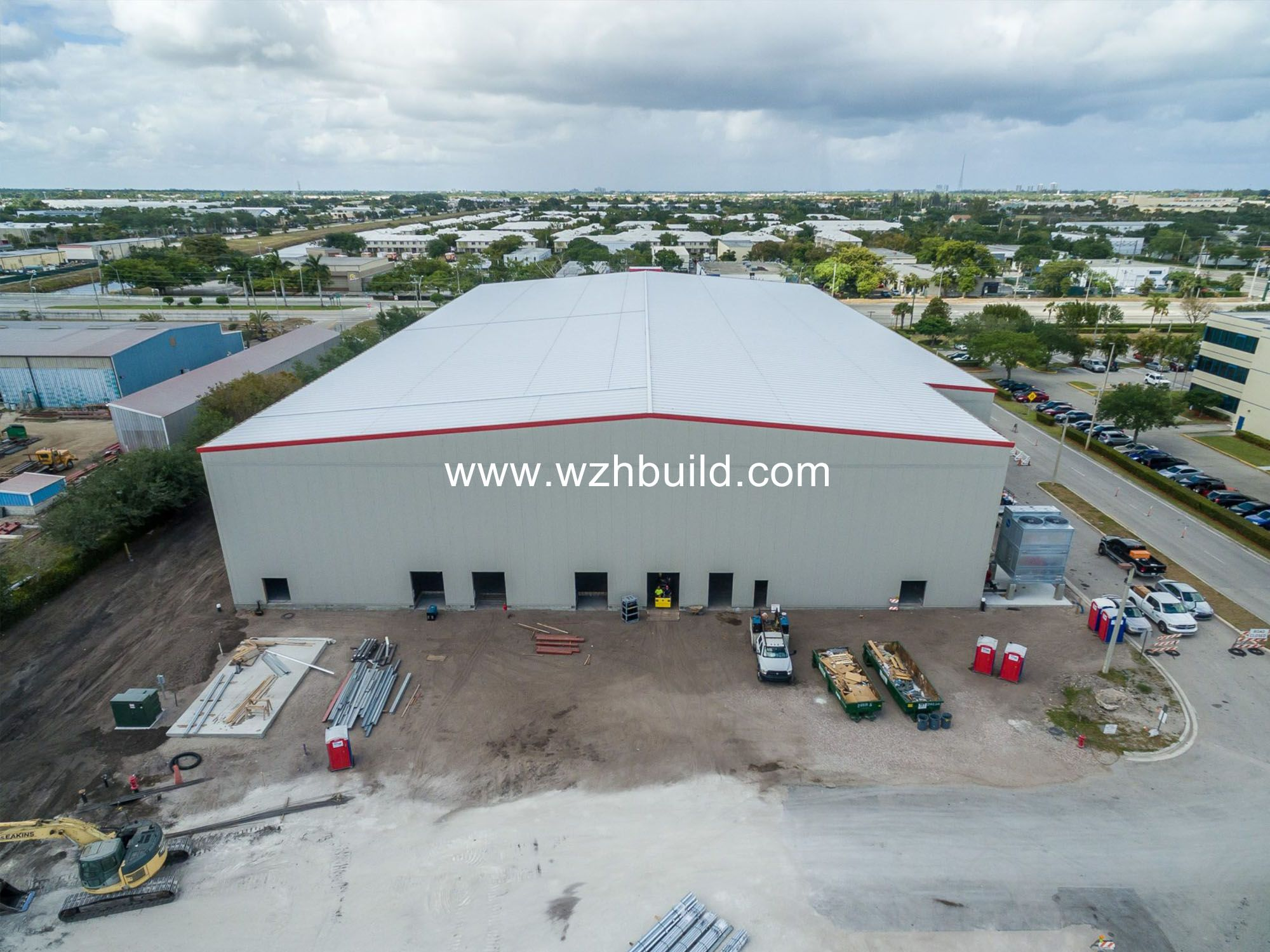 Steel Structure Steel Building Prefabricated Cold Storage Sheds