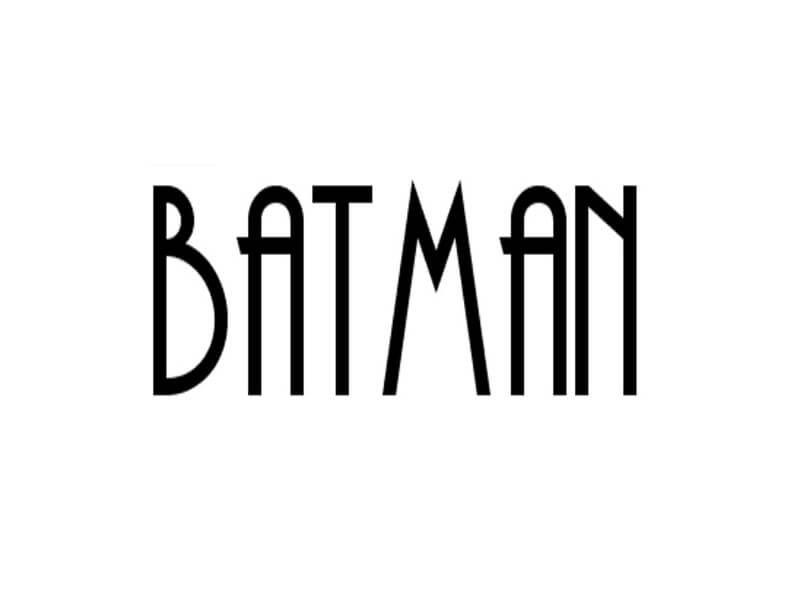 Download Batman Font Free Download | Batman font, Batman, Free ...