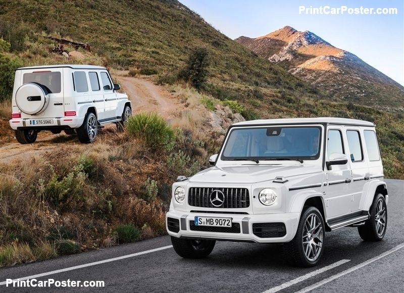 Mercedes Benz G63 Amg 2019 Poster With Images Mercedes Amg G