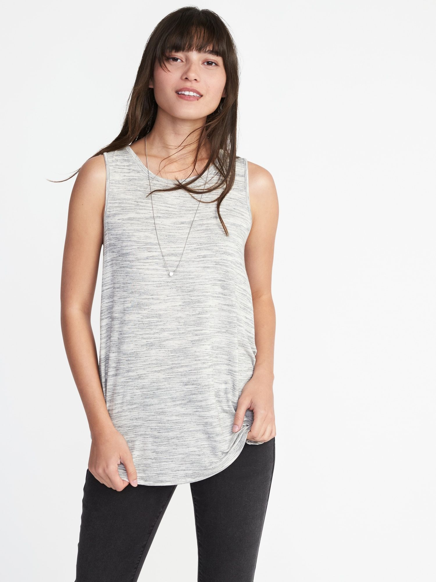 ac9f5ba8b51c2 Old Navy Luxe High-Neck Swing Tank for Women