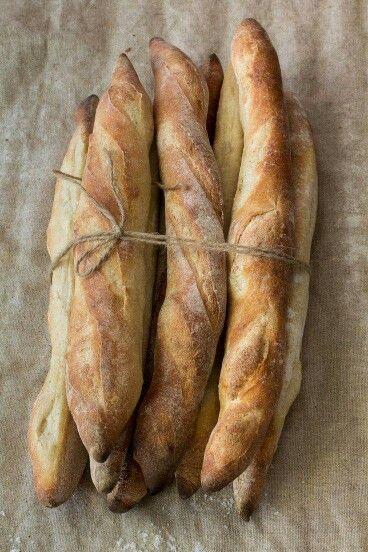 Lovely Christy baguette bread.