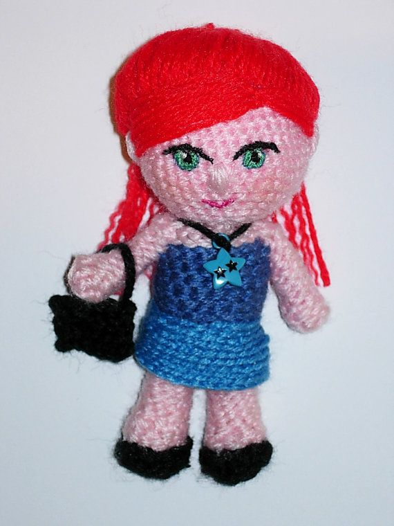 Amigurumi Doll Niña Paula  Finished doll by CrochetExpression, €9.90