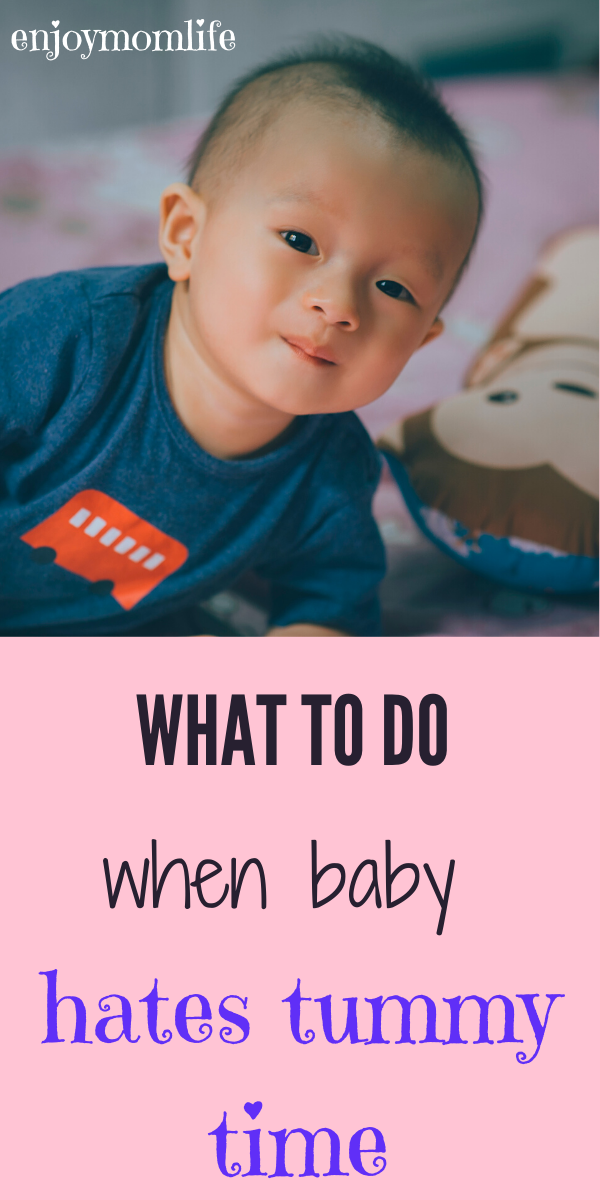Baby Hates Tummy Time? 6 Ways To Fix This en 2020 ...