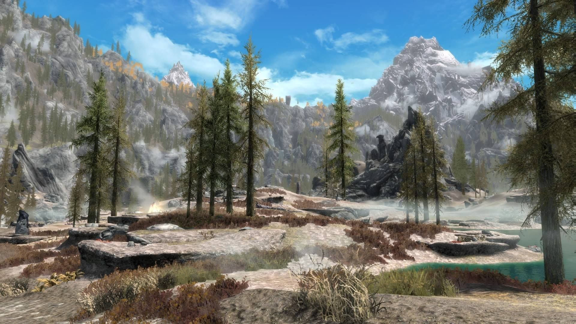 The Volcanic Tundra of Eastmarch (Dolomite-Vivid PS4) #games