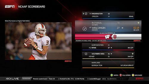 Xbox ESPN App | NBA | Sports graphics, Espn, Sports
