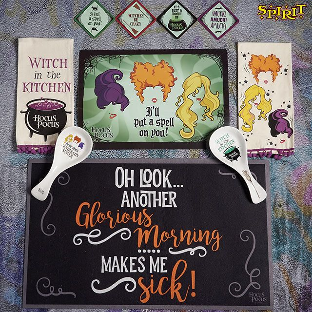 Magical Halloween Decorating Ideas 2020 Make your kitchen look magical with a touch of Hocus Pocus! | Fun