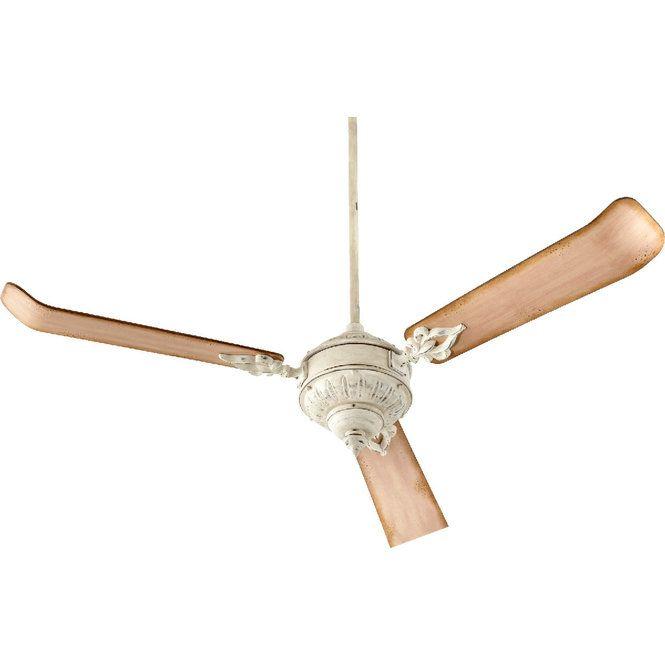 60 Vintage Flared Blade Ceiling Fan Ceiling Fan 60 Ceiling Fan