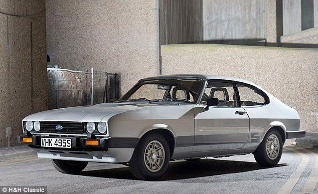 Bodie S Ford Capri From Hit Show The Professional Sells For 55 000 Ford Capri Classic Cars Tv Cars