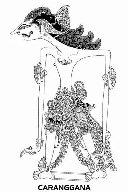 Putra Putra Arjuna Revisi Ilustrator Seni Tradisional
