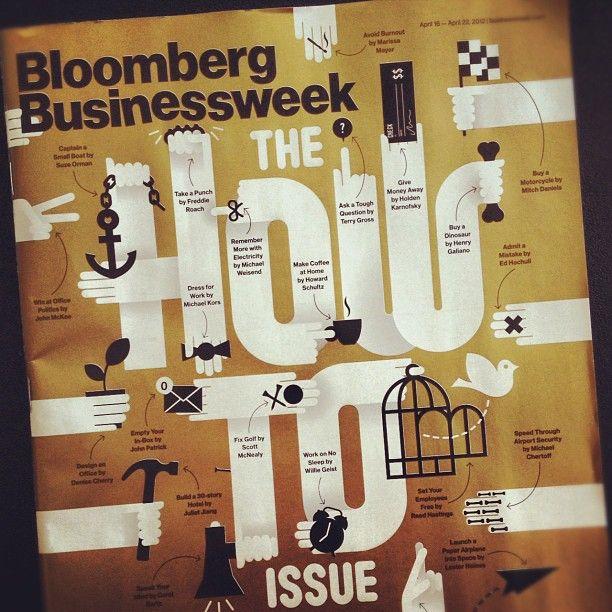 Bloomsburg Businessweek cover by @craigandkarl