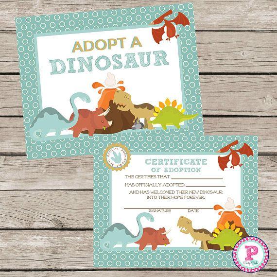 HUGE Birthday Party Package Printable Invitation Pet Dinosaur ...
