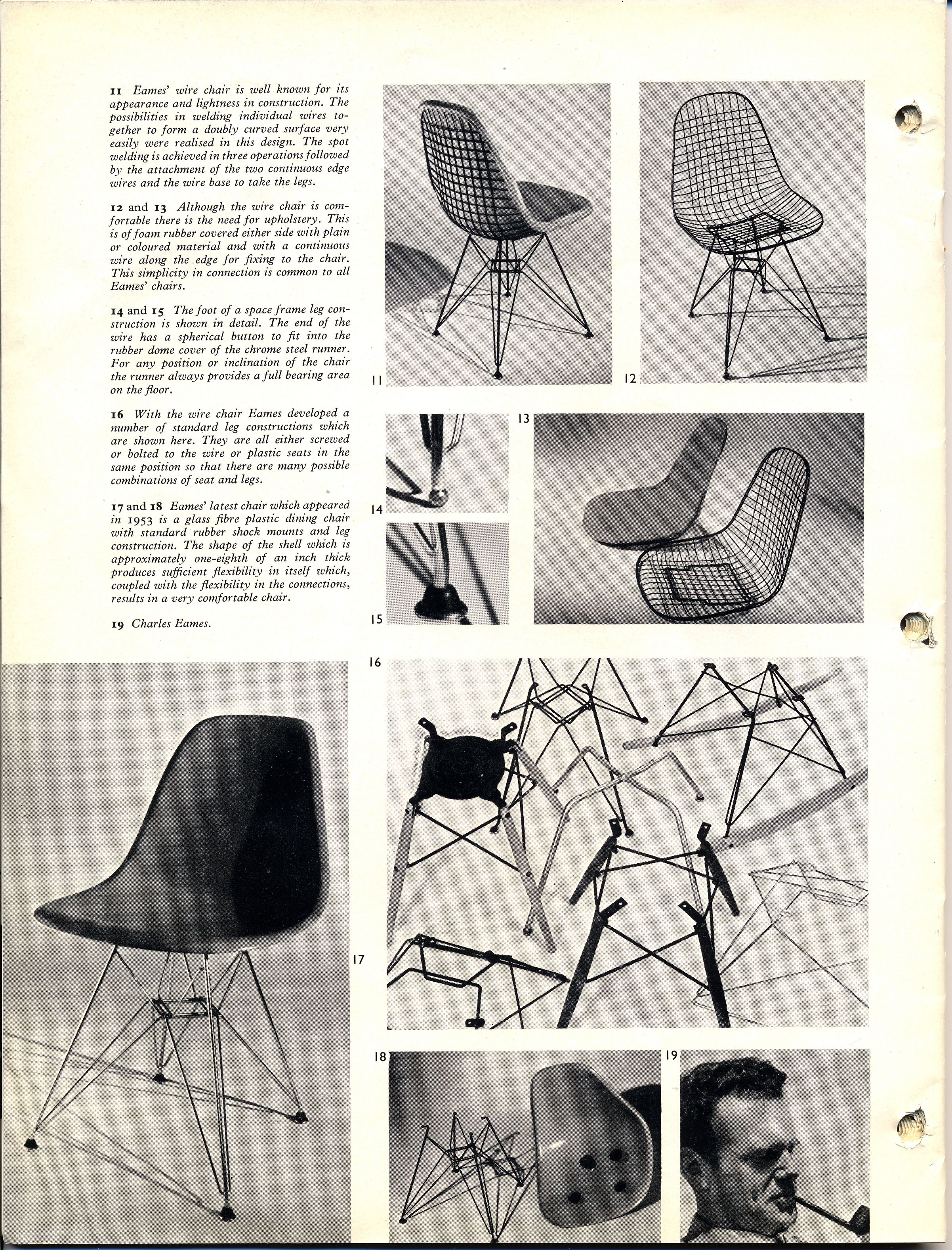 Eames Upholstered Wire Chairs And Eames Fiberglass Chairs Were Celebrated By The British Design Council When They W Eames Fiberglass Chair British Design Eames