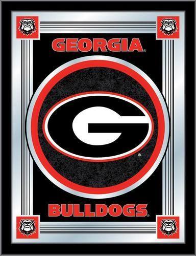 Georgia Bulldogs Uga Logo Mirror Wall Art Georgia Bulldogs Georgia Bulldogs Football Georgia Dawgs