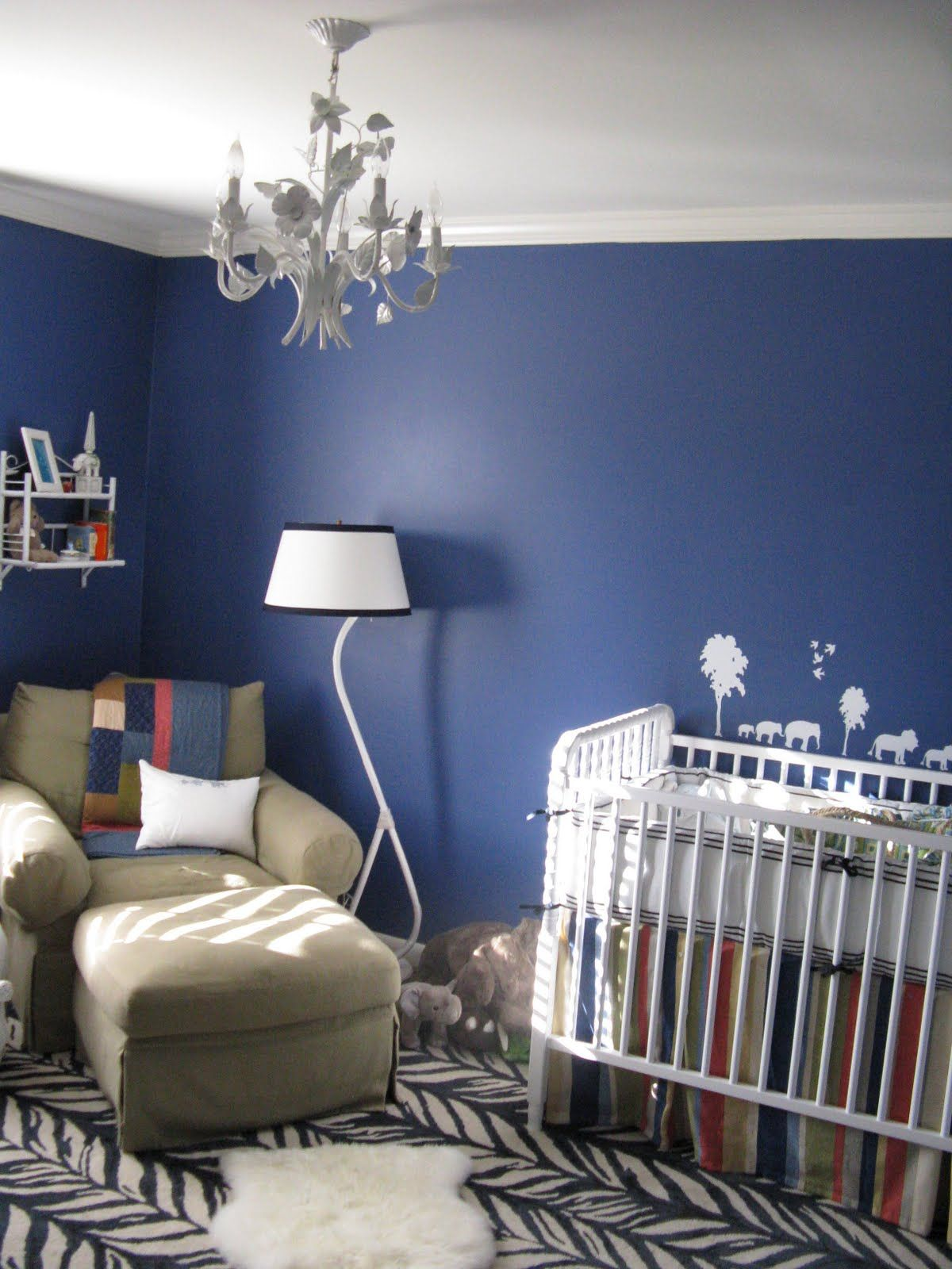 Sherwin Williams Revel Blue color for walls Matters of Style