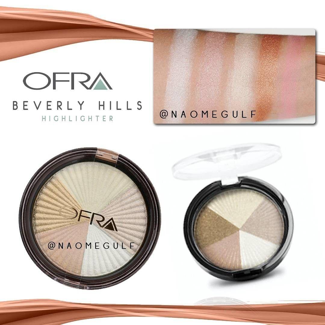 إضاءة بيفرلي هيلز الخماسيه من اوفرا توفيريه متعدد الالوان تتكون من 5 درجات مختلفه تغنيك عن شراء خمس Ofra Beverly Hills Highlighter Eyeshadow Highlighter