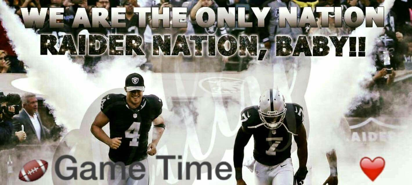 Raider Nation Game Time