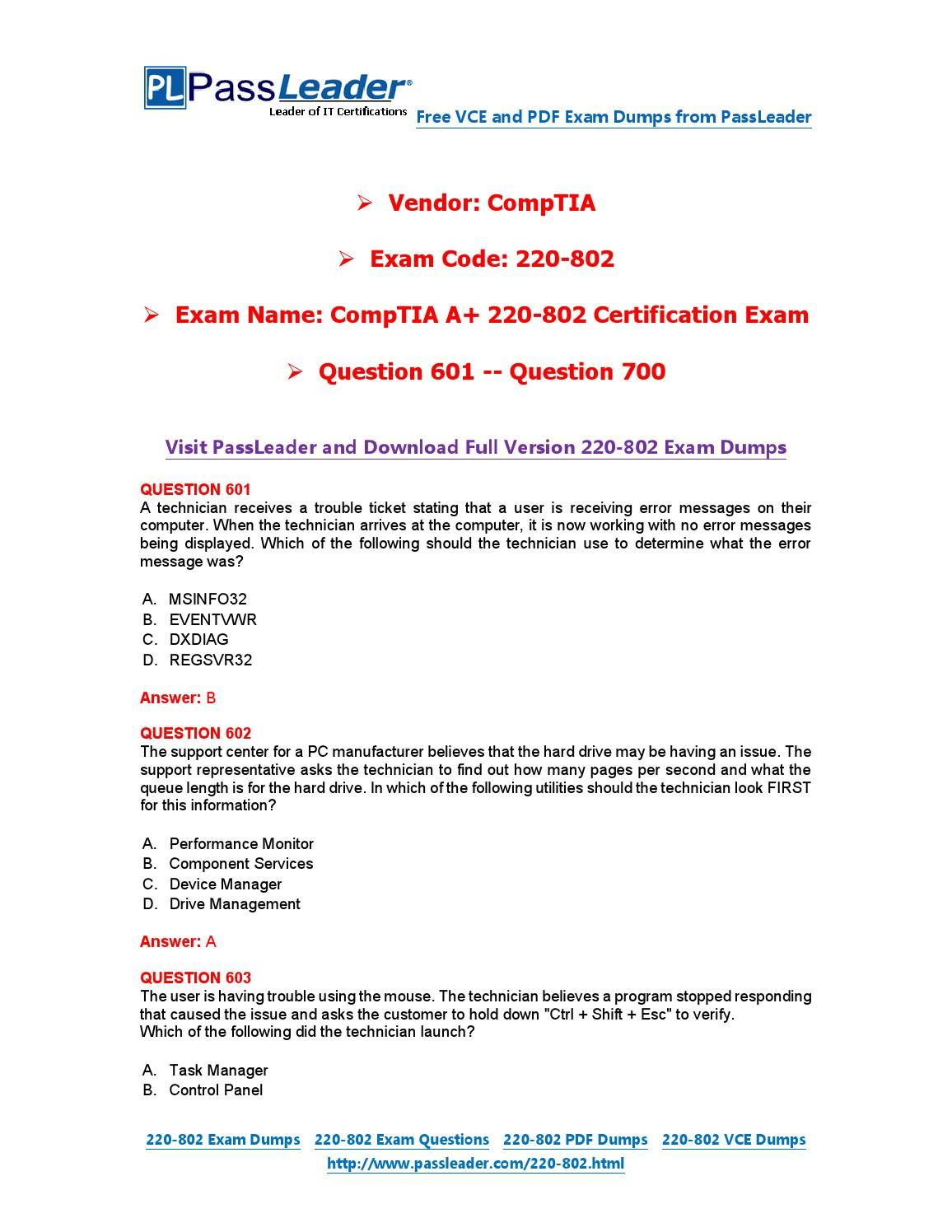 220 802 exam dumps with pdf and vce download 601 700 220 802 220 802 exam dumps with pdf and vce download 601 700 1betcityfo Choice Image