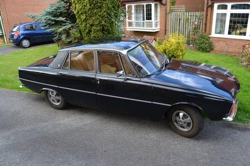 1975 ROVER P6 2200SC Black For Sale
