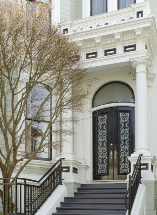 Historic Pacific Heights home in San Francisco. Renovation by Dijeau Poage Construction.