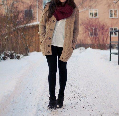 Resultado de imagen para COnjuntos de invierno tumblr