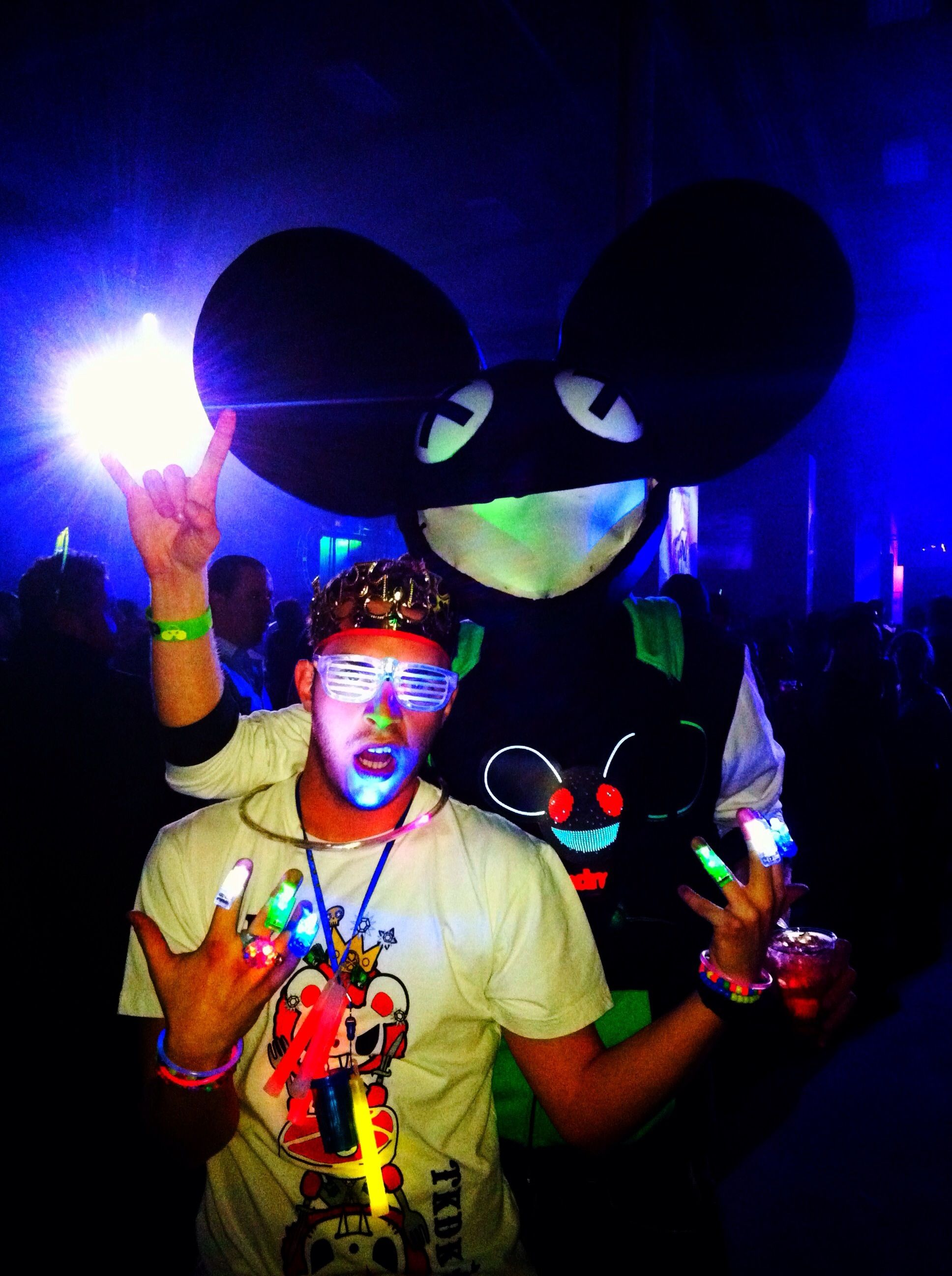 Deadmau5 New Years Eve 2012 NEW YORK CITY with Tyler