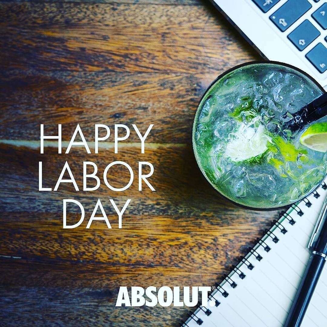 Hoy celebramos la productividad. Happy #LaborDay! #Absolut #AbsolutPuertoRico #PremiumVodka #PuertoRico #IslanderLife