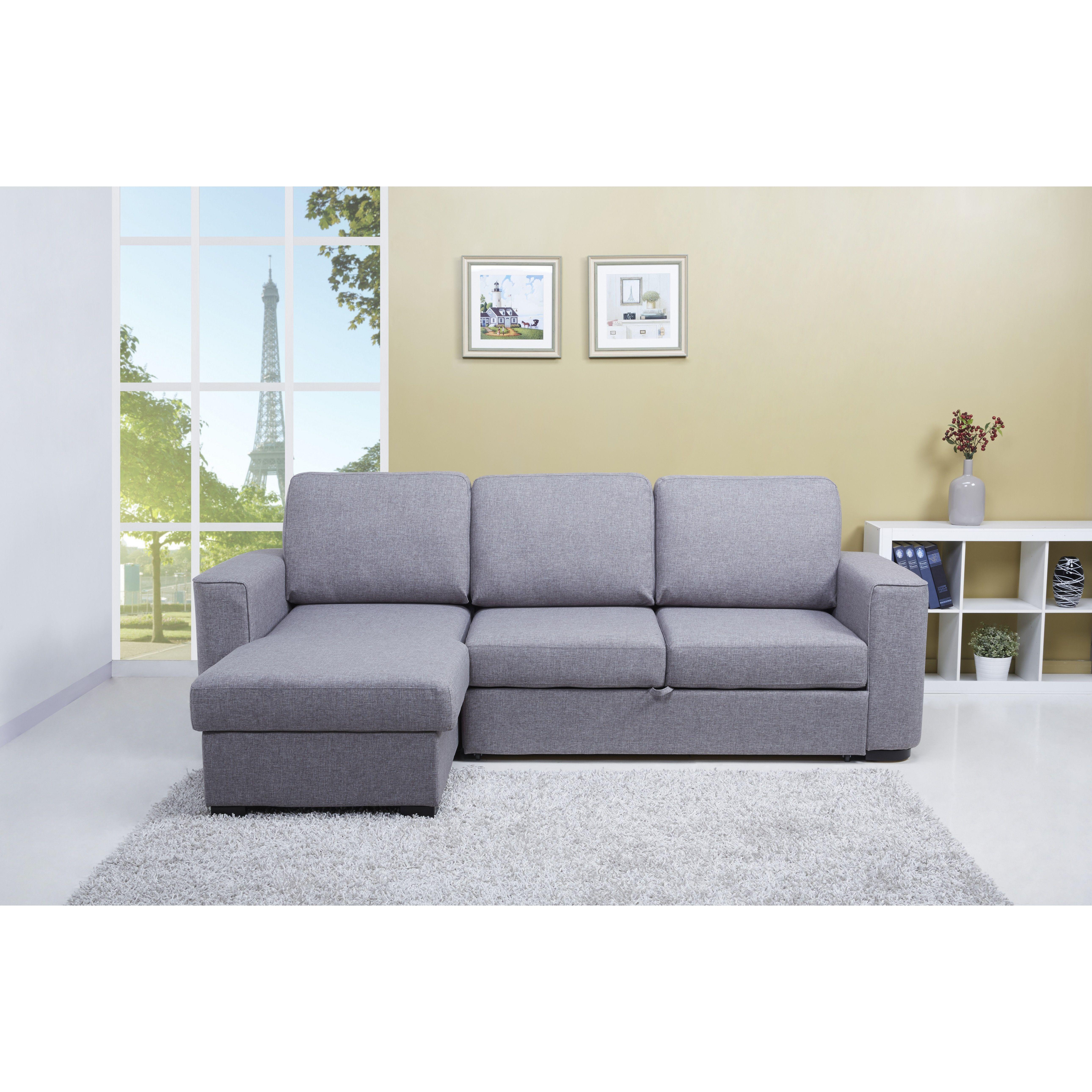 Chul Reversible Sleeper Corner Sofa Bed Interer