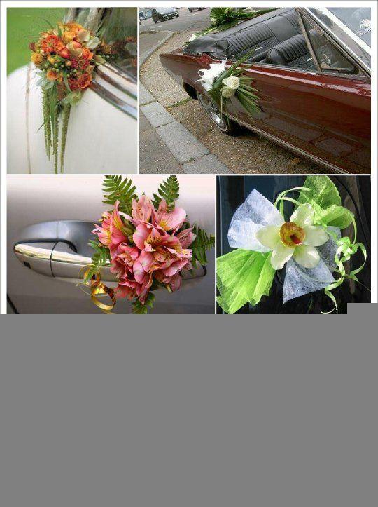 Idee decoration voiture mariage à découvrir