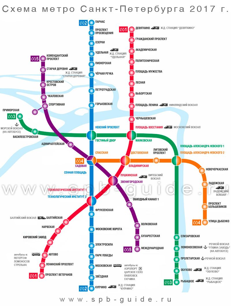 Схема метро города санкт петербург 747
