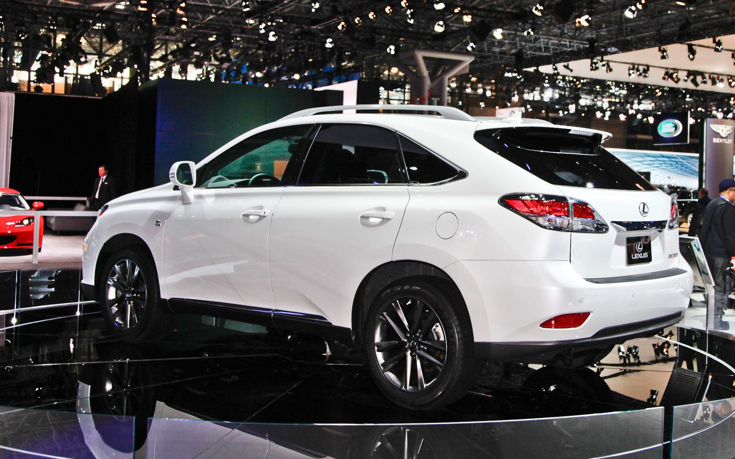 Read on to learn more on the 2013 lexus rx 350 f sport set to debut at the 2012 new york auto show brought to you by the automotive experts at motor trend