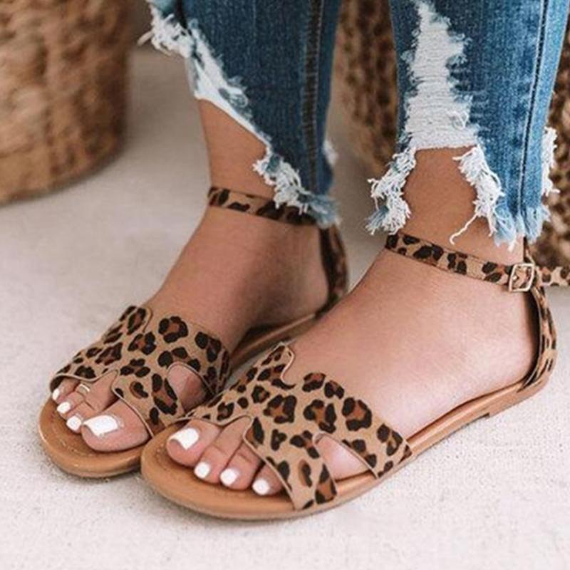 Faux Leather Studded Cream Comfy Ladies Womens Sandals Shoes Size EU 38 UK 5